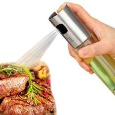 Leegoal น้ำมันมะกอกและน้ำส้มสายชูซอสถั่วเหลือง Sprayers เครื่องปั๊มขวดแก้วชุด (1 ชิ้น) สำหรับการปรุงอาหารห้องครัว, เบเกอรี่, Grillinsg.