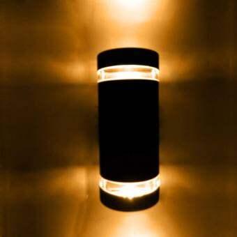 Leon Light โคมไฟผนังภายนอกส่องขึ้นลง พร้อมหลอด LED5wแสงวอร์ม รุ่นGCZ3404WW