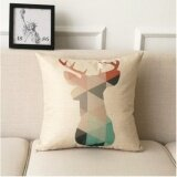 ซื้อ Leyi Geometric Fashion Linen Pillow Intl ใน จีน