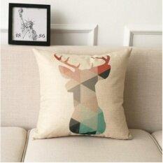 ขาย Leyi Geometric Fashion Linen Pillow Intl ออนไลน์ จีน