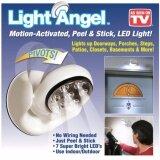 ซื้อ Light Angel Motion Sensor โคมไฟ Led พร้อมเซนเซอร์ตรวจจับความเคลื่อนไหว เปิด ปิดอัตโนมัติ ถูก