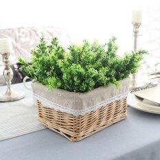 Lightingartificial ปลอมสีเขียวจำลองพืชสำหรับงานแต่งงานงานเลี้ยงสังสรรค์งานแต่งงานตกแต่ง - นานาชาติ.