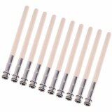 ขาย Lightning Power 10 Pcs Wooden Handle Pencil Extender Holder Art Writing Lengthener Tool Intl ใน จีน