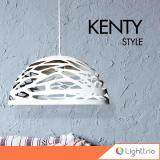 ขาย Lighttrio โคมไฟแขวนเพดาน สไตล์โมเดิร์น รุ่น Hl Kenty Wh Lighttrio ออนไลน์