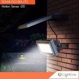 ราคา Lighttrio Solar โคมไฟสปอร์ตไลท์ โซล่าเซลล์ ไฟกันกันขโมยติดกำแพง 1000 Lumens แสงเดย์ไลท์ ถูก