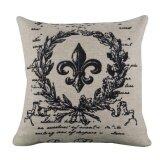 ราคา Linen Square Throw Flax Pillow Case Decorative Cushion Pillow Cover Intl ออนไลน์