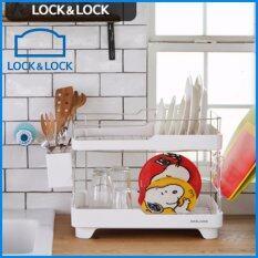 ขาย ล็อคและล็อคเกาหลีครัว Dish Drainer ตู้แร็คอบแห้ง นานาชาติ Lock Lock ถูก