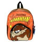 ซื้อ กระเป๋าเป้ Looney Tunes ลายTasmanian Unleashed สีน้ำตาล ส้ม 15X12นิ้ว