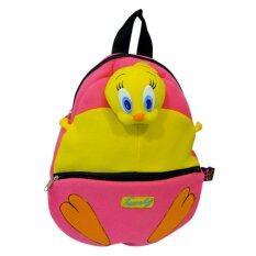 ขาย ซื้อ กระเป๋าเป้ Looney Tunes ลาย Tweety สีชมพู ไทย
