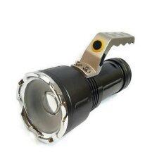 ซื้อ Lotte High Power ไฟฉายชนิดสว่างมาก T6 Led Super Zoom ชาร์จบ้าน ชาร์จรถ ได้ ออนไลน์