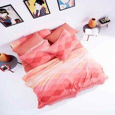 ราคา Lotus Diamond ชุดผ้าปูที่นอน ไม่รวมผ้านวม รุ่น Li Sd 19D
