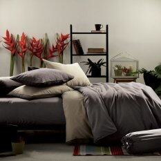 ขาย Lotus Impression ชุดผ้าปูที่นอนสีพื้น 6ฟุต 5ชิ้น ผ้านวม รหัส Li Sd010 Lotus เป็นต้นฉบับ