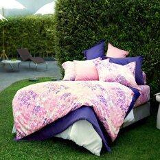 ส่วนลด สินค้า Lotus Impression ชุดผ้าปูที่นอน ผ้านวม ลายพิมพ์ รุ่น Li027 ขนาด ชุดปู นวม 3 5 ฟุต