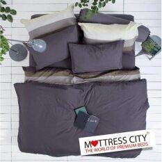 ซื้อ ผ้าปูที่นอน Lotus Impression Solid ขนาด 6 ฟุต 5 ชิ้น รุ่น Li Sd 010