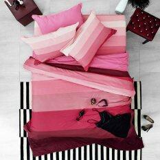 ขาย Lotus Stripies ชุดผ้าปูที่นอน 3 5 ฟุต 3 ชิ้น ลาย Li Sd 06B โทนสีแดงชมพู ออนไลน์