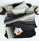 ราคา Lotus Stripies ชุดผ้าปู 3 5 ฟุต 3 ชิ้น ลาย Li Sd 10 B โทนดำ เทา ใหม่