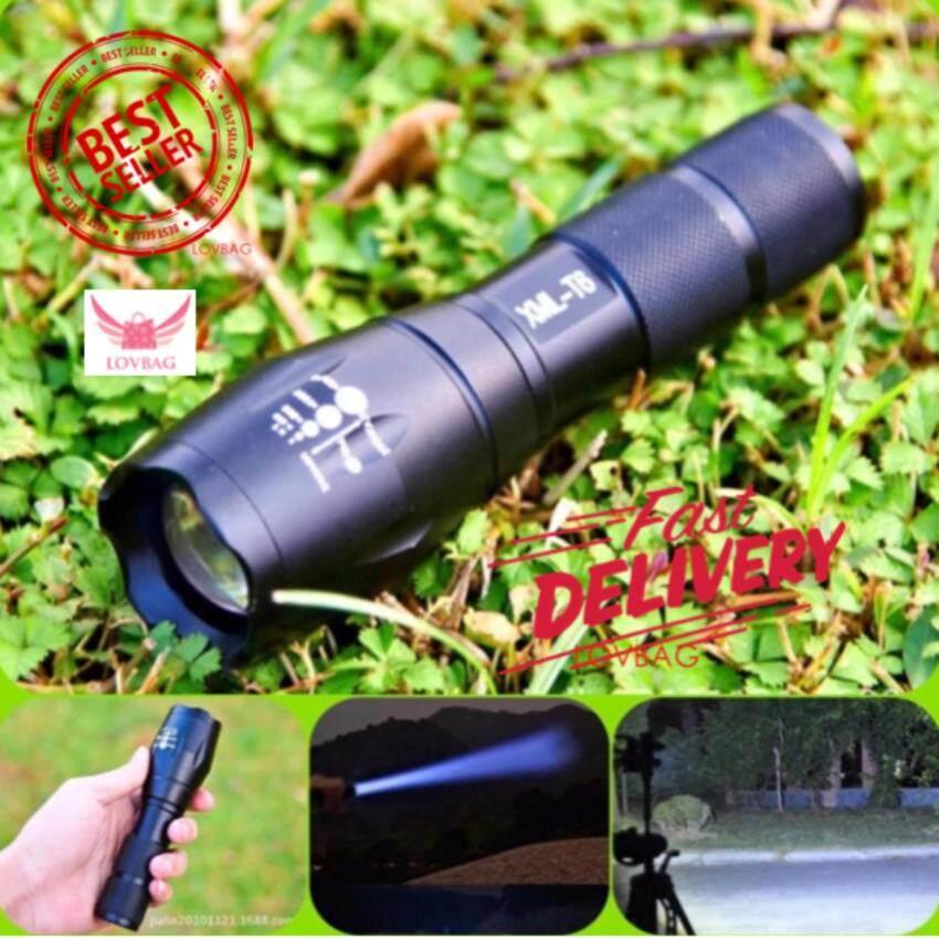 ขาย ซื้อ Lov R 2200Lm Cree Xml T6 Led Zoomable Flashlight Torch 5 Modes ไฟฉาย แรงสูง ซูมได้