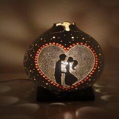 ราคา โคมไฟน้ำเต้า Love Gourd Lamp