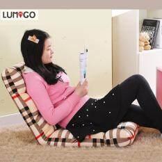 ขาย Lumigo เก้าอี้ญี่ปุ่น เก้าอี้นั่งพื้น โซฟาญี่ปุ่น เบาะญี่ปุ่น ปรับเอนได้ 6 ระดับ ขนาด110 X 50 X 15 ซม ลายสก็อต Lumigo ใน Thailand