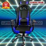 ซื้อ Lumigo เก้าอี้เล่นเกมส์ เก้าอี้เกมส์มิ่ง เก้าอี้ปรับระดับได้ เก้าอี้ทำงาน Racing Gaming Chair รุ่น Gmc 012 Race Bl สีน้ำเงิน ออนไลน์ ถูก