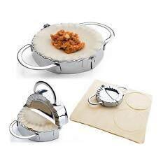 ขาย Luowan Dumpling Maker 304 Stainless Steel Dumpling Maker And Dough Press For Home Kitchen Dumpling Pie Ravioli Mold Mould Maker 1Pack ออนไลน์ ใน จีน