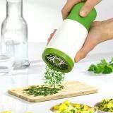 ส่วนลด Luowan Herb Grinder Microplane Spice Mill Vegetable Cutter Tools Parsley Shredder Slicer Chopper Mincer For Fruit Salad Cooking Gadget จีน