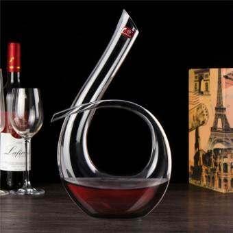 หรูหราแก้วคริสตัล 6 ไวน์ขวดเหล้าไวน์ไวน์แดงโถ 1200 มิลลิลิตร - นานาชาติ
