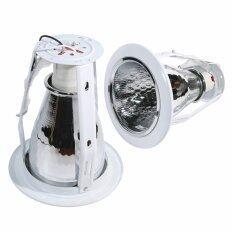ความคิดเห็น Luzina Downlight โคมไฟ ดาวไลท์ ดาวไลท์ฝังฝ้า E27 รุ่น E27 A4002 Wh สีขาว 2ชิ้น