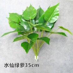 ซื้อ ดอกไม้พลาสติกจำลองดอกไม้ประดิษฐ์และพืชสีเขียวปลอมพืชหญ้า Unbranded Generic เป็นต้นฉบับ