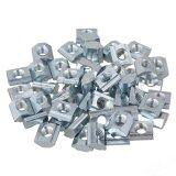 ซื้อ M5 Thread T Sliding Nut 20 Series European Standard Set Of 50 Silver ออนไลน์ ถูก