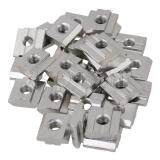 ราคา M6 Thread T Sliding Nut 30 Series European Standard Set Of 30 Silver ใหม่ล่าสุด