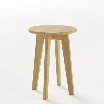 MA MAISON Side Table โต๊ะข้างวางของ ขนาด 40 x 40 x 55 ซม. (ธรรมชาติ)