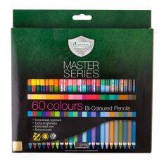โปรโมชั่น Master Art มาสเตอร์อาร์ต ดินสอสี 2 หัว 60 สี มาสเตอร์ซีรี่ย์ ถูก