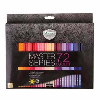 Master Art สีไม้ ดินสอสีไม้ 72 สี รุ่นมาสเตอร์ซีรี่ย์