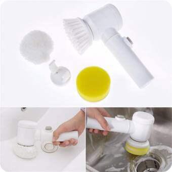 ขัดล้างทำความสะอาด ไม่ต้องเหนื่อยให้เมื่อยอีกต่อไป ด้วยแปรงขัดไฟฟ้า  Magic Brush. Happy-T