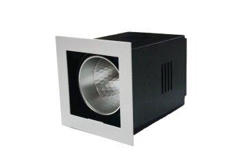 Magic โคมไฟ ดาวไลท์ ดาวไลท์ฝังฝ้า Downlight1xE27 รุ่น A-DL1 - สีขาว