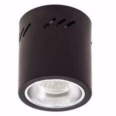 ขาย ซื้อ Magic โคมไฟดาวน์ไลท์ติดลอย ทรงกลม 1Xe27 สีดำ 4นิ้ว