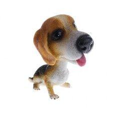 Magideal น่ารักสั่นหัวตุ๊กตาสุนัขพยักหน้าลูกสุนัขรุ่นรถบ้านเครื่องประดับตกแต่ง 5 - นานาชาติ.