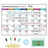 โปรโมชั่น Magnetic Colorful Whiteboard Calendar For Fridge Dry Erase Board Monthly Plan 16 11 75 Inches จีน