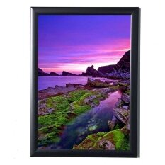 ขาย Makiyo A4 Black Simulation Wood Table Photo Picture Frame With Glass Hardboard Back Intl ใน จีน