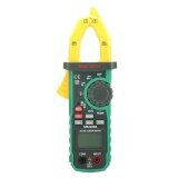 Mastech Ms2109A True Rms Auto Range Digital Ac Dc Clamp Meter 600A Multimeter Volt Amp Ohm Hz Temp Capacitance Tester Ncv Test Intl ใหม่ล่าสุด