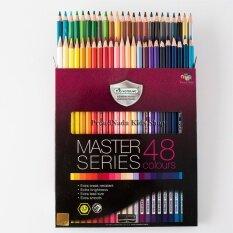 Master Art มาสเตอร์อาร์ต ดินสอสี สีไม้ 48 แท่ง 48 สี รุ่นมาสเตอร์ซีรี่ย์(master Series).