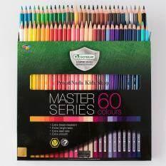 ซื้อ Master Art มาสเตอร์อาร์ต ดินสอสี สีไม้ 60 แท่ง 60 สี รุ่นมาสเตอร์ซีรี่ย์ Master Series Master Art เป็นต้นฉบับ