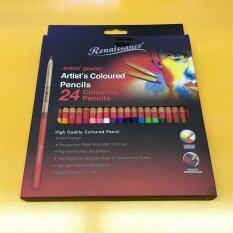 ราคา Master Art มาสเตอร์อาร์ต Renaissance ดินสอสีไม้ 24สี เป็นต้นฉบับ Master Art