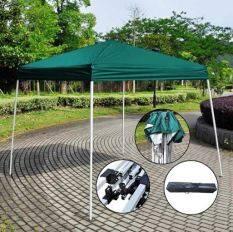 ซื้อ Maxde เต็นท์พับได้ พร้อมกระเป๋าและอุปกรณ์ ขนาด 3 3เมตร สีเขียว ถูก
