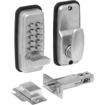 ล็อคการรวมเครื่องกลในครัวเรือนกุญแจแบบรหัสปุ่มดิจิตอลสมาร์ทดิจิตอลล็อครักษาความปลอดภัย - INTL-