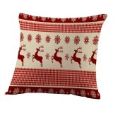 ราคา Merry Christmas Pillow Cases Sofa Letter Cushion Cover Home Decoration Intl Unbranded Generic จีน