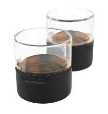 ราคา Metrokane Rabbit Freezable Whiskey Glasses แก้วใส่วิสกี้ รุ่น 6411 2 Pack Metrokane ใหม่