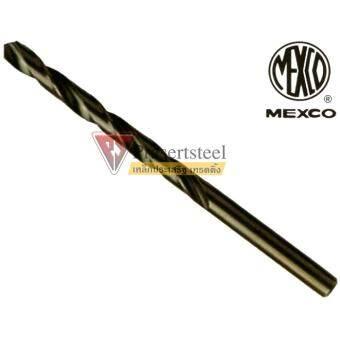 MEXCO ดอกสว่านเจาะเหล็กไฮสปีด ชนิดมิล HSS ขนาด 0.6มม. * 24มม. (1 โหล)