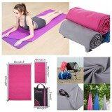 Microfibre Beach Bath Towel Lightweight Sheet Sports Travel Camping Gym Swimming